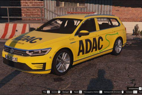 VW Passat GTE | German ADAC Paintjob