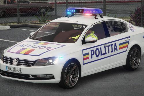 VW Passat Phaeton - Politia Romana