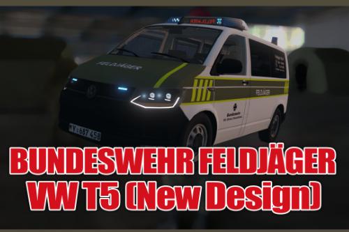 VW T6 2015 Bundeswehr [Feldjäger] (New Design)