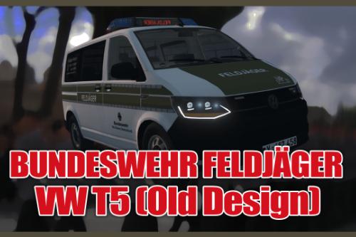 VW T6 2015 Bundeswehr [Feldjäger] (Old Design)