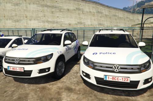 VW Tiguan - Belgian Police - Police locale de Charleroi