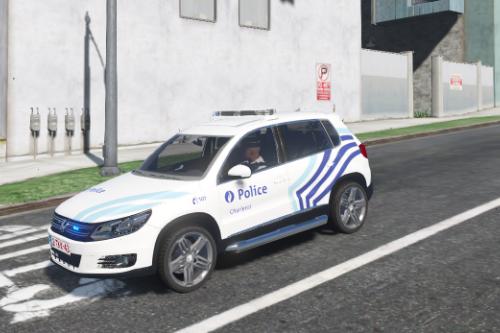 Volkswagen Tiguan Belgian Police