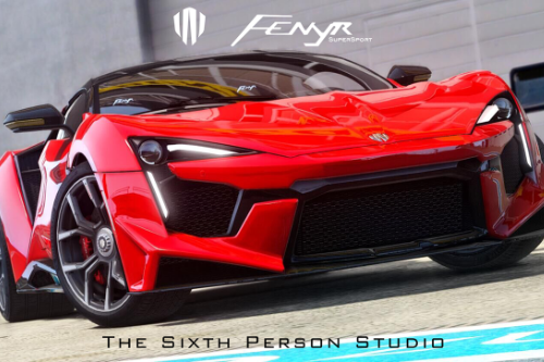 W-Motors Fenyr Supersport 2016 [Template | Add-On | Extras]