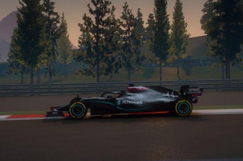 W11 Mercedes benz Formula One F1 2020 [Add-On]