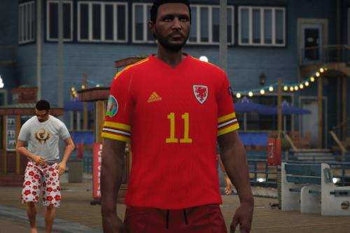Wales Football Club Jersey 2021 [EUP/FIVEM READY]