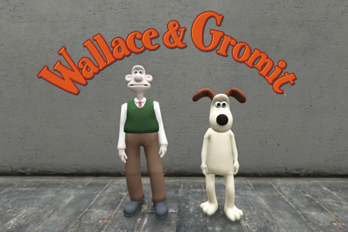 Wallace & Gromit [Add-on Ped]