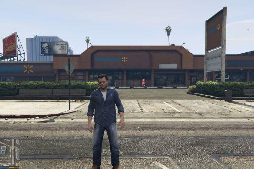 Walmart and Subway in Los Santos