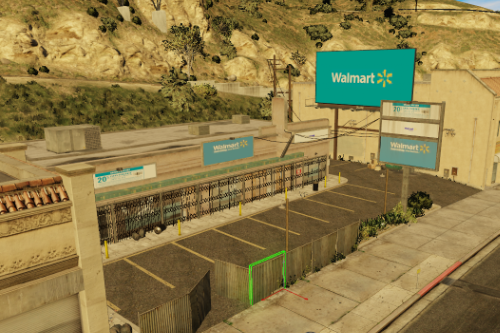 Walmart Store Los Santos