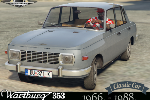 WARTBURG 353 [Add-On] and [Replace] for Asea+tuning parts