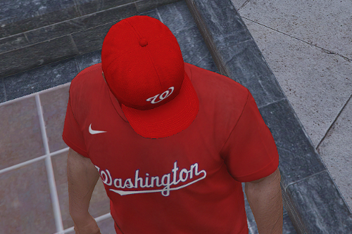 Washington Nationals Cap and T-Shirt