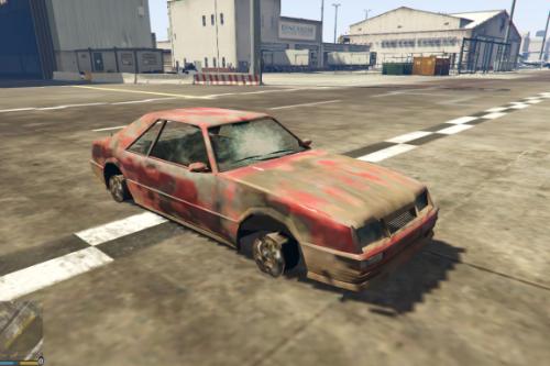 Drive The Waste Car Mod