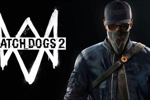 Watch Dogs 2 Loading Screens + Replaced Rockstar Start-Up Logo