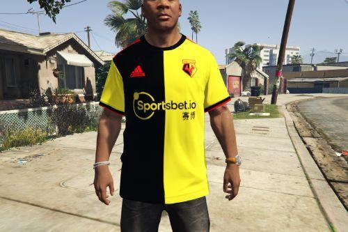 Watford FC 2019-2020 Home Shirt