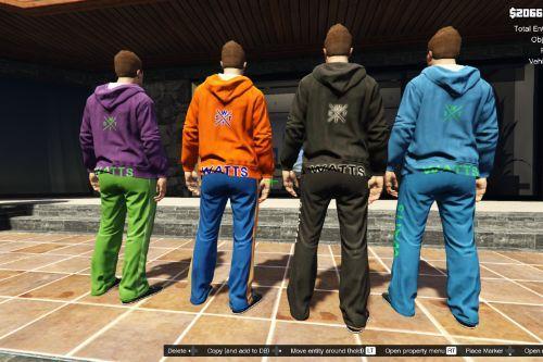 Watts Beyond Clothing Sweatshirts and jogging pants