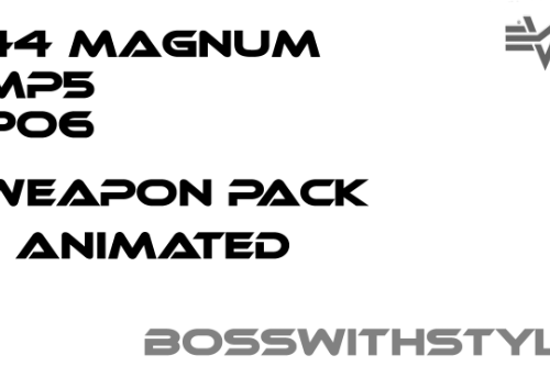 BossWithStyle Weapon Pack [Animated]