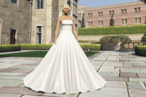 Wedding dress for MP Female