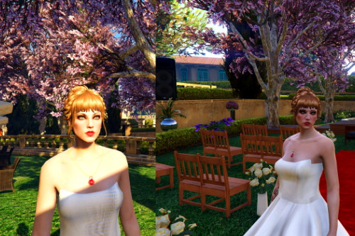 Wedding Hairstyle for MpF Freemode [FiveM Ready]