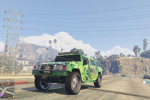 Weed Camo for After Hours vehicles