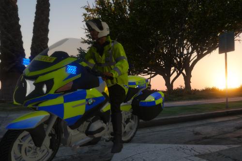 Welsh Police Bike Unit
