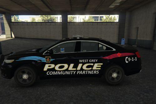 West Grey Police Paint Job (Ontario, Canada) Update