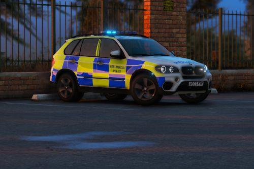 West Mercia Police - BMW x5 e70 - ARV [ELS]