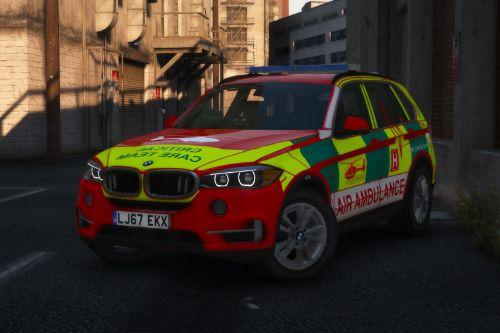 West Midlands Ambulance & Air Ambulance - BMW X5 RRV