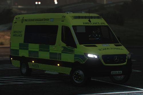 West Midlands Ambulance Service 2019 Mercedes Sprinter [ELS]