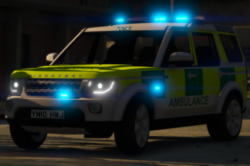 West Midlands Ambulance Service RRV Land Rover Discovery