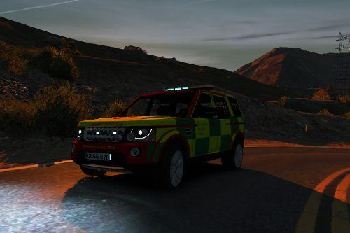 West Midlands Care Team Land Rover Discovery