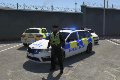 West Midlands Police 2019 Skoda Octavia VRS