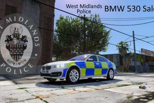 West Midlands Police /CMPG 4K - BMW 530 Saloon