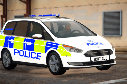 West Midlands Police Ford Galaxy [Replace | ELS]