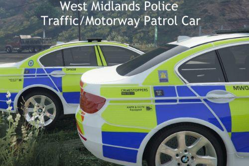 West Midlands Police Traffic/Motorway Patrol BMW 530D