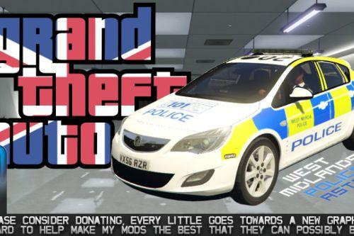 West Mercia Police Vauxhall Astra [OIV]