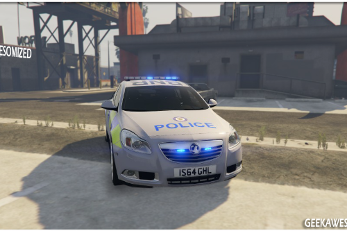 West Midlands Police Vauxhall Insignia Area Car