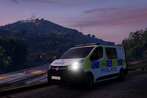 West Midlands police Vauxhall Vivaro