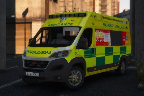 West Midlands Ambulance - Fiat Ducato 2018