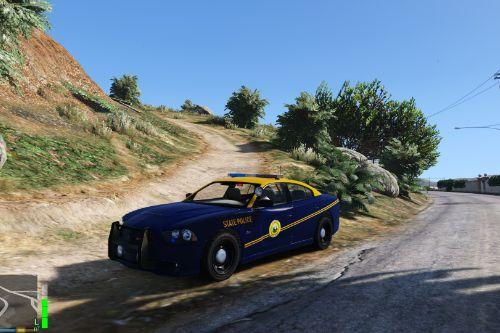 West Virginia State Police Charger Skin