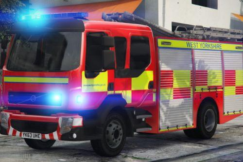 West Yorkshire Fire & Rescue Service Livery for the 2010 Volvo FL