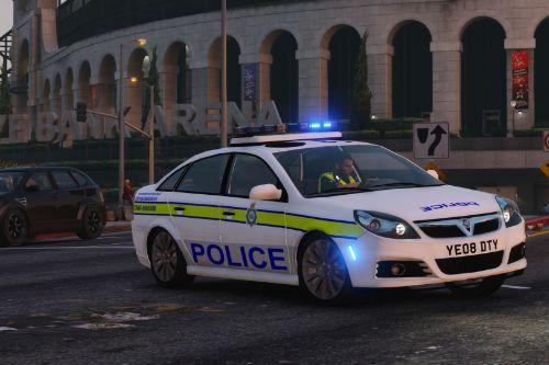 West Yorkshire Police 2008 Vauxhall Vectra Traffic Car