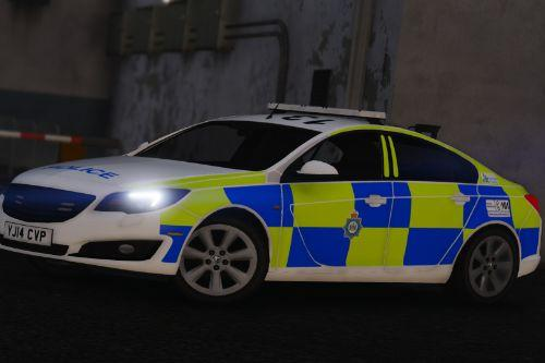 West Yorkshire Police 2014 Vauxhall Insignia