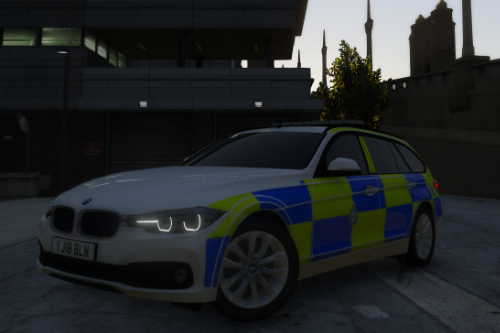 west yorkshire police bmw 3 series paint