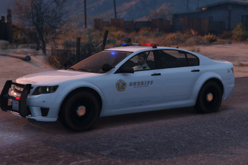 White Sheriff Cheval Fugitive [Add-On]