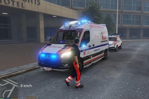 WIENER BERUFSRETTUNG Facelift Mercedes Sprinter(NEUES DESIGN) | Österreich | Austrian Ambulance
