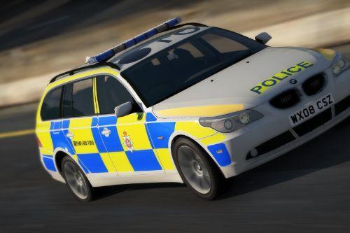 Wiltshire Police 2008 BMW 5 Series Estate RPU