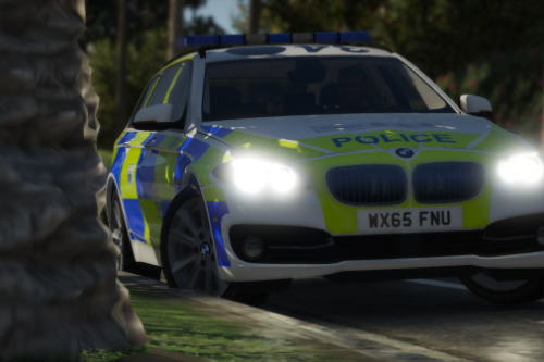 Wiltshire Police 2015 BMW 530D Estate RPU