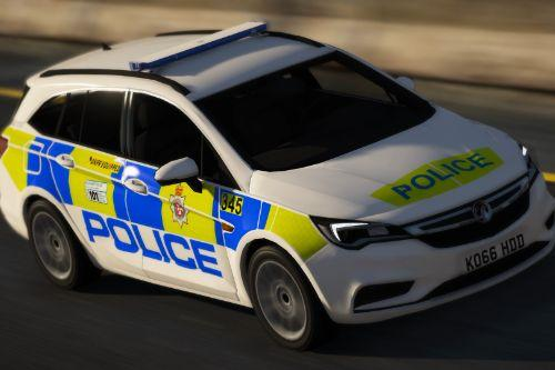 Wiltshire Police 2016 Vauxhall Astra Estate IRV