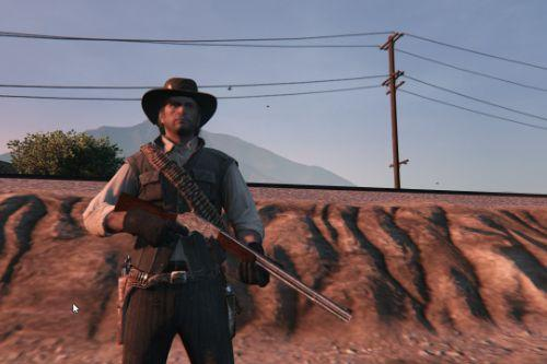 Winchester from Red dead redemption