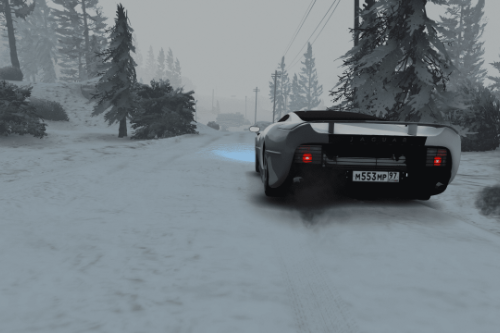 Winter camouflage || paintjob for Jaguar XJ220