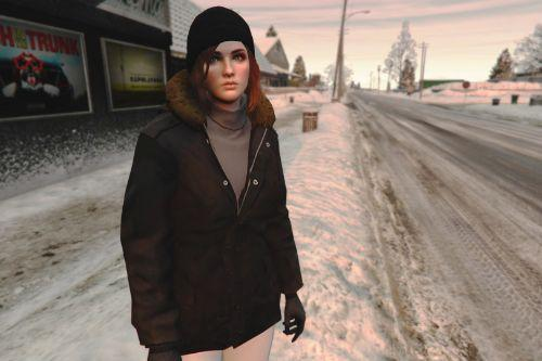 Winter Jacket + Beanie For MP Female